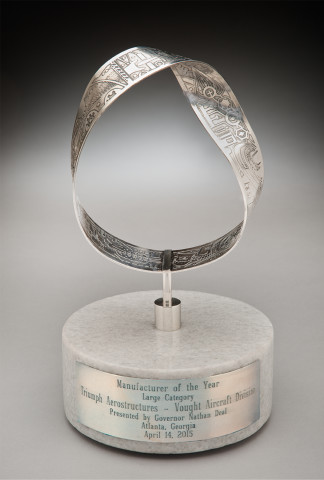 Mobius Sculpture -- Georgia Manufacturer of the Year Award